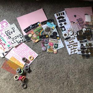 Scrapbooking essentials!
